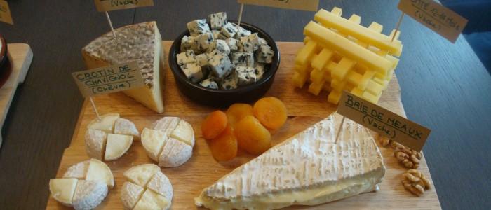 Plateau de fromages du Dimanche