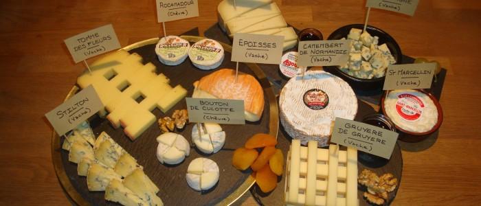 Le plateau de fromages de Noël !