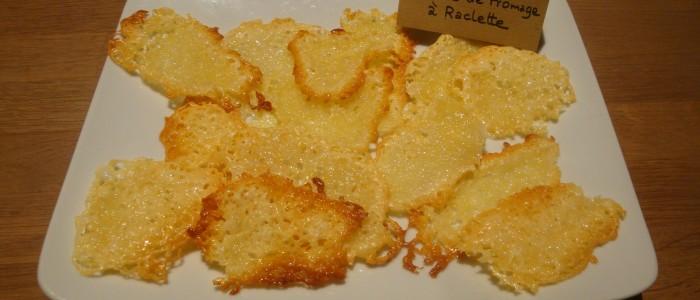 Tuiles au fromage à raclette