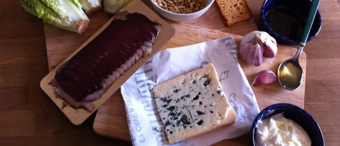 Salade Gourmande au Bleu d'Auvergne