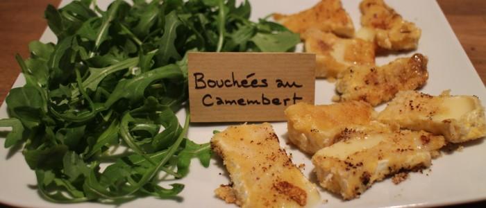 Recette : bouchées au Camembert