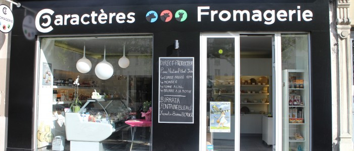 Fromagerie Caractères – 75016