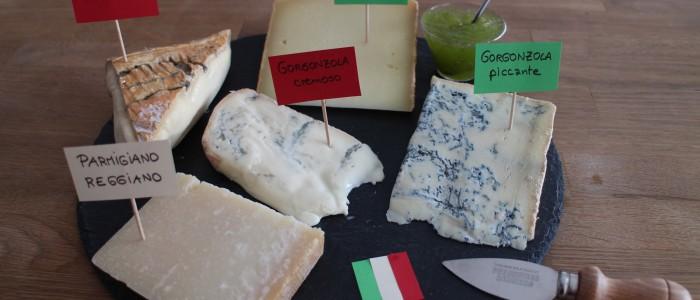 Le plateau de fromages 100% Italie