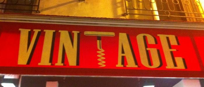 LE VINTAGE – Bar à vins 75002