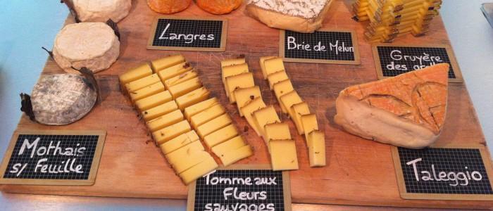 Le plateau de fromages du Séminaire