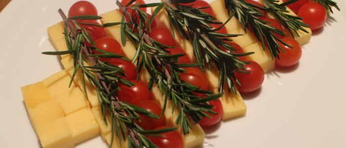 Recette : le sapin de Noël fromager !