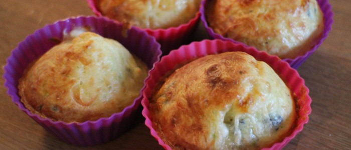 Recette : Petits cakes courgette / Ste Maure