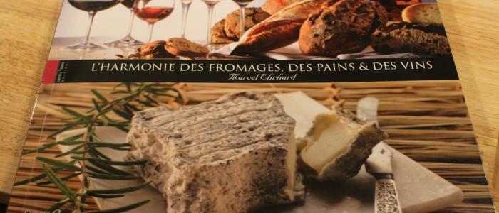 Un joli livre sur les associations fromage, pain et vins
