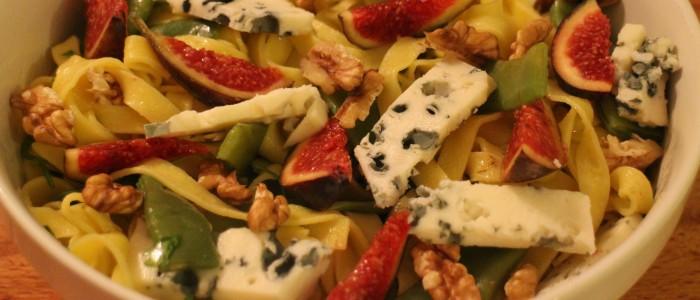 Recette : salade d'automne au roquefort