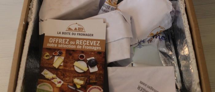 Test de box : découvrez La Boîte du Fromager
