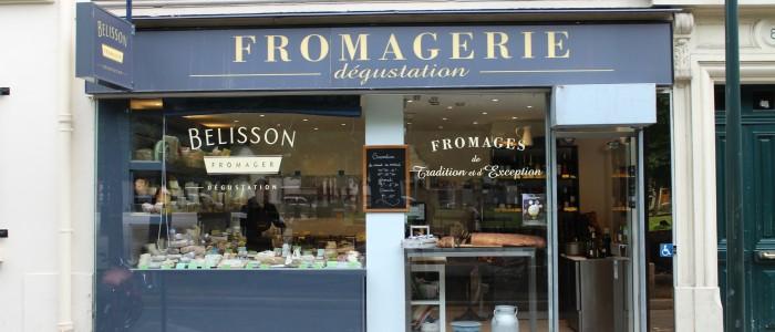 La fromagerie Belisson à Clichy