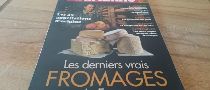 Le hors-série «Les derniers vrais fromages de France»