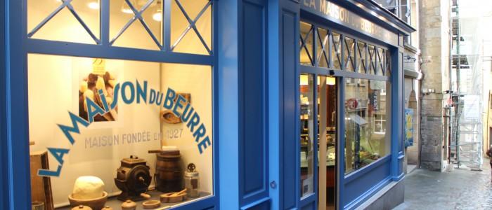 La maison du Beurre Bordier à St Malo