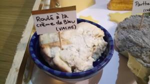 plateau de fromages noel 2017 crème de Bleu