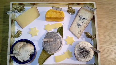 plateau de fromages de noel 2017 les fromages de clairette